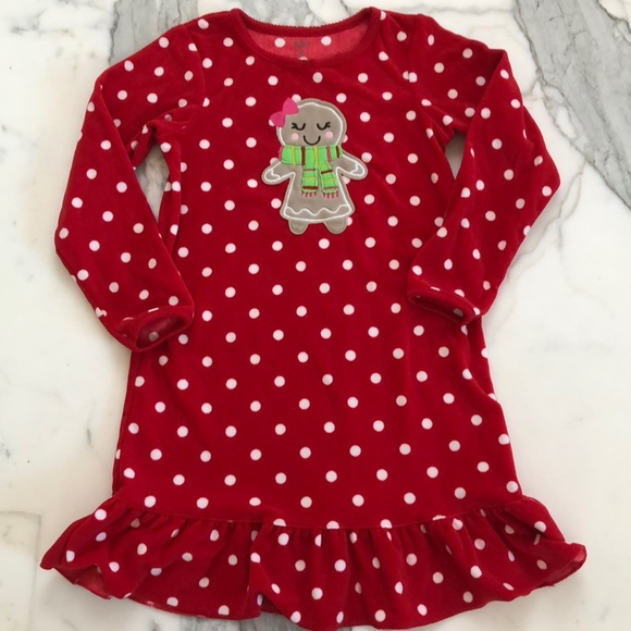 Carter's Other - Girls Polkadot Nightgown